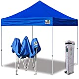 Eurmax Commercial 10'x10' Ez Pop Up Canopy Canopiest, Royal Blue
