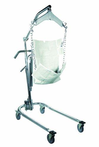Patient Lift-Manual Hydrau w/6 Point Cradle & Chains -Drive