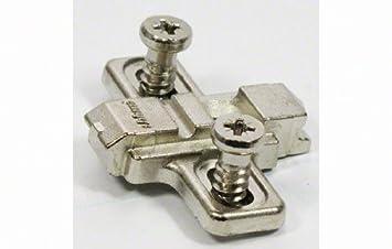 Blum 175L8100 Nickel Cabinet Hinge Accessories CLIP Top One Piece ...