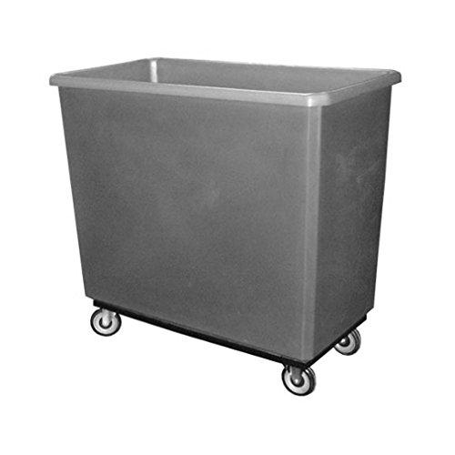 Boss Cleaning Equipment B021102 Gray Utility Cart, 300 lb. Capacity, 8 Cubic Feet