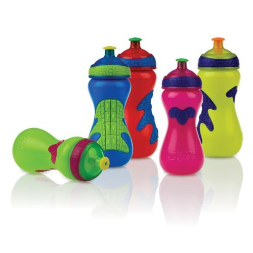 Nuby Sport Sipper (Nuby Gator Grip Sports Bottle with Pop-Up Sipper Case Pack 48 Home Kitchen Furniture Decor)