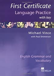 First Certificate Language Practice. With Key.