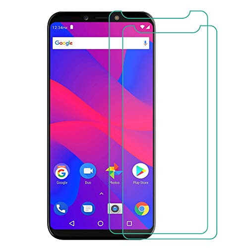 RLTech for BLU Advance A6 2018 Screen Protector, 2 PCS [Tempered Glass] [Bubble-Free] Anti-Scratch Screen Protector for BLU Advance A6 2018 6.0