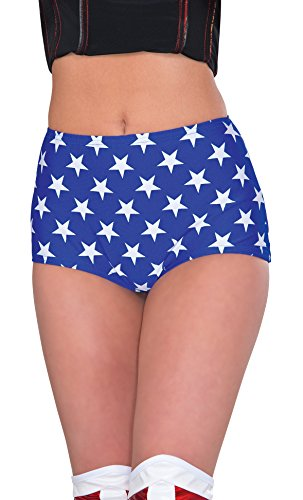 Rubie's Women's Dc Comics Wonder Woman Boy Shorts, Multi, One Size