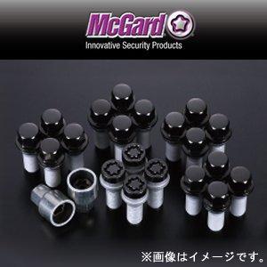 McGard(マックガード) インストレーションキット ボルトタイプ ブラック テーパー M12×P1.5 首下長さ:26.0 レンチ径:17 MCG-67179BK B01513BPUO
