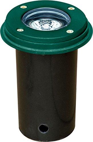 Dabmar Lighting LV301-SLV-G Cast Aluminum In-Ground Well Light, Green