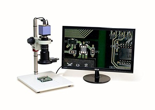 Aven 26700-103-00 Macro Video Inspection System w/HDMI 1080P Color Camera, Built in SD Card