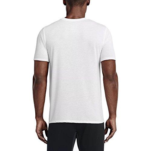 T Homme Blanc Swoosh Nike Athlete noir shirt T Db TqUgUv