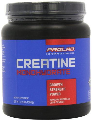Prolab Creatine Monohydrate Powder, 1000g 2.2 lbs