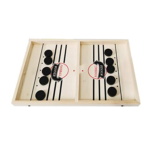 Fanuse Sling Puck Game Foosball Winner Juego de Mesa Bounce Chess Eject Chess Bounce Chess Party Inicio Juegos…