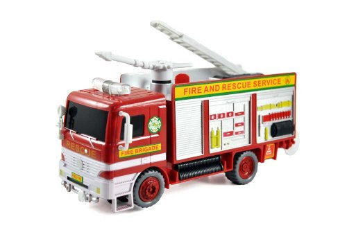 (Toy City Pumper B928A Bubble Fire Engine Truck Toy)