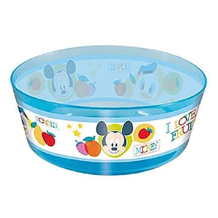 Diseño de Mickey y sus amigos-Cuenco de bebé para microondas ...