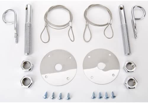JEGS 90060 Hood and Deck Lid Pin Kit