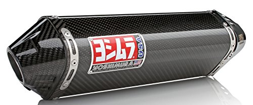 (Yoshimura TRC Carbon Fiber Slip-On Exhaust for 2006-2011 Yamaha YZF-R6V - EPA Noise Compliant - Yamaha YZF-R6 2006-2010)