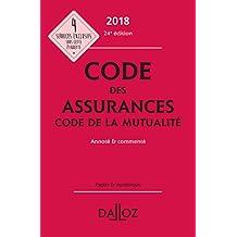 Code des Assurances, Code de la Mutualité 2018 24e Éd.