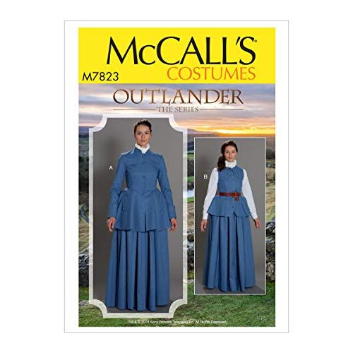 Kwik Sew M7823 Outlander Misses' Costume E5 (Sizes 14-22) Multi