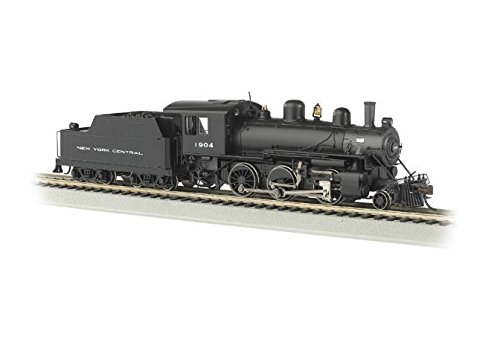 Bachmann Industries Alco 2-6-0 DCC Sound Value Equipped HO Scale #1904 New York Central Locomotive -  51808