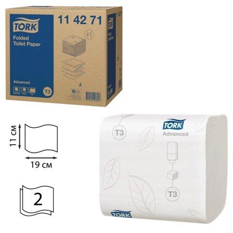 T3 Folded 2-Ply Toilet Tissue 36 Packs of 242 Sheets
