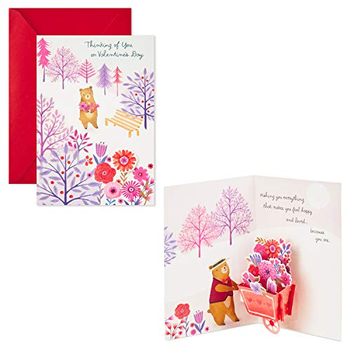 Hallmark Paper Wonder Pop Up Valentines Day Card for Anyone (Beary Loved Valentine) Photo #3