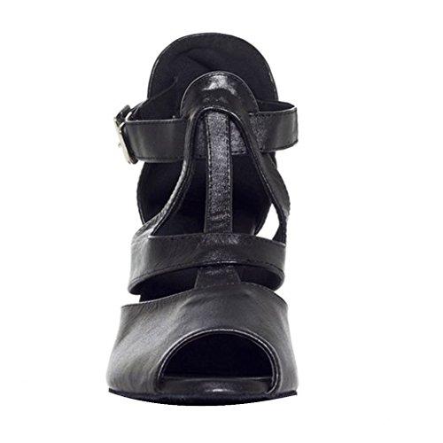 misu - Zapatillas de danza para mujer Negro negro