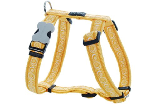 Red Dingo Designer Dog Harness, X-Large, Cosmos Yellow