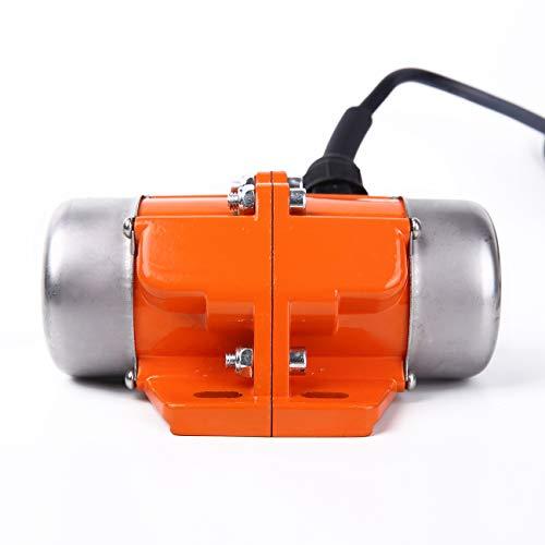 BIZOEPRO Concrete Vibrator Vibration Motor 60W Mini Vibrating Motor Single Phase Aluminum Alloy AC 110V 3600rpm Vibrating Vibrators for Shaker Table from BIZOEPRO