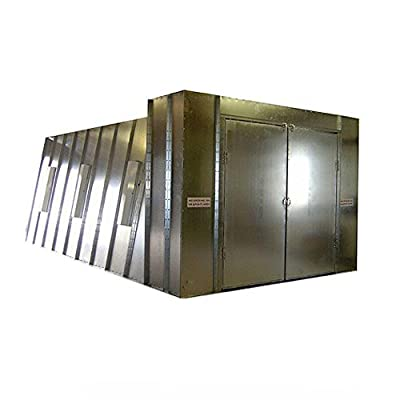 Col-Met Spray Booths 14 ft. x 10 ft. x 26 ft. Reverse Flow Crossdraft Spray Booth with Exhaust Duct and UL Control Panel in Southwest Region