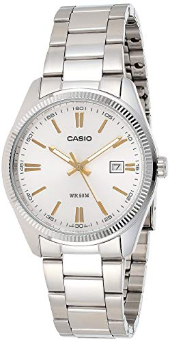 Casio Enticer Analog Silver Dial Men #39;s Watch   MTP 1302D 7A2VDF  A488