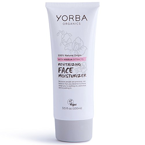 Yorba Organics Revitalizing Face Moisturizer with Kigelia Extracts, 3.5 Fluid Ounce (Kigelia Extract compare prices)