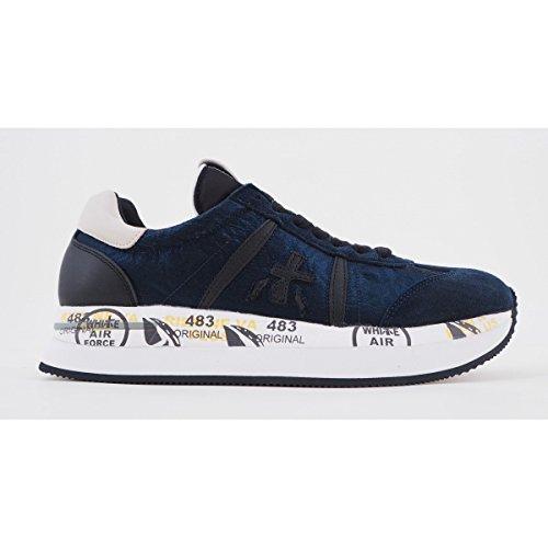 Premiata Blue Conny Sneaker Blu 1491 rxFrqSw