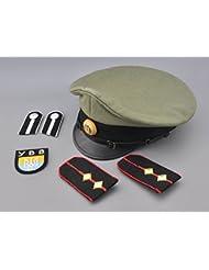 Ww2 ukraine volunteer officer's visor german puppet army (ybb) uniform