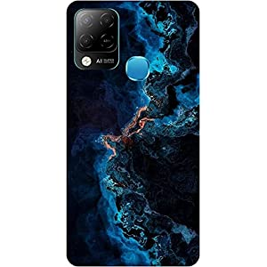 Amagav Soft Silicone Printed Mobile Back Cover for Infinix Hot 10S -Design104