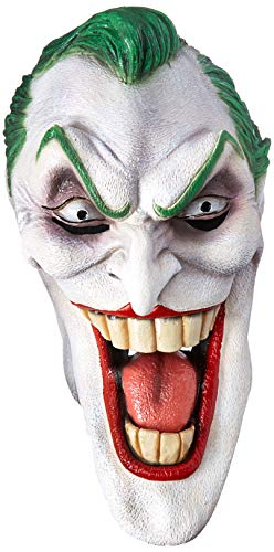 Rubie's Dc Heroes and Villains Collection Joker Latex Mask, Multicolored, One ()