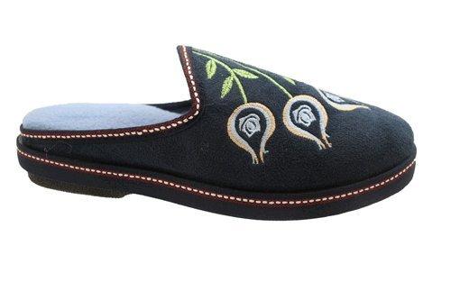 Surf 4 Shoes - Zapatillas de estar por casa de sintético para mujer azul - azul marino