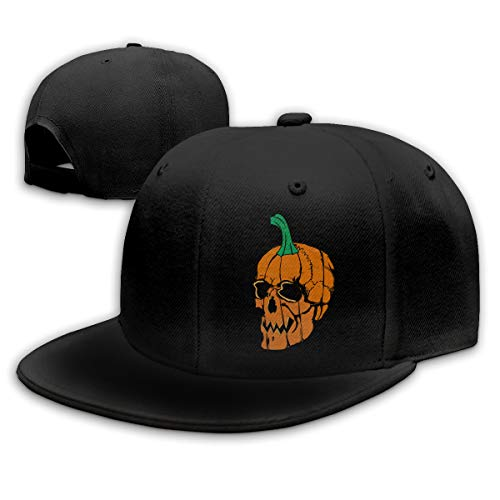 Volunteer Unisex Fashion Halloween Baseball Caps Buckle Design Adjustable Trucker Hat Black]()