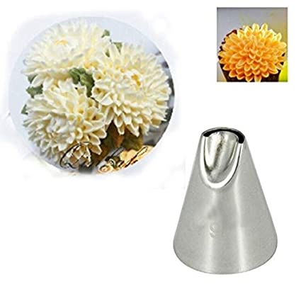 Buy Shrinika #79 Chrysanthemum Stainless Steel Cake Tips Decorating Nozzles  Online at Low Prices in India - Amazon.in