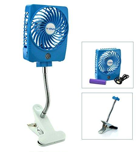 mini square fan - 1