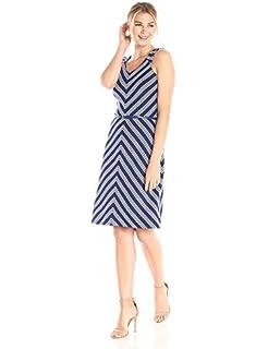 Lark /& Ro Womens Sleeveless Bow Dress Brand