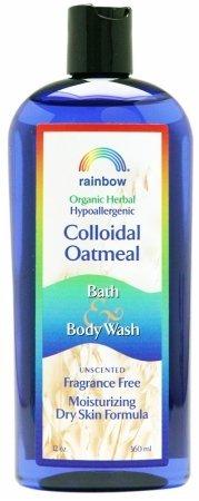 Rainbow Research Colloidal Oatmeal Bath And Body Wash - Frag
