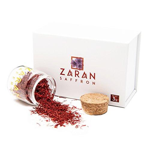 Zaran Saffron (3 grams/.105oz) Premium Saffron - Super Negin