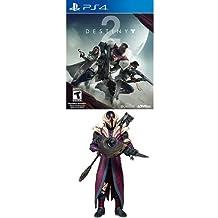 "Destiny 2 - PlayStation 4 Standard Edition + McFarlane Toys Destiny King's Fall Warlock Collectible Action Figure, 7"""