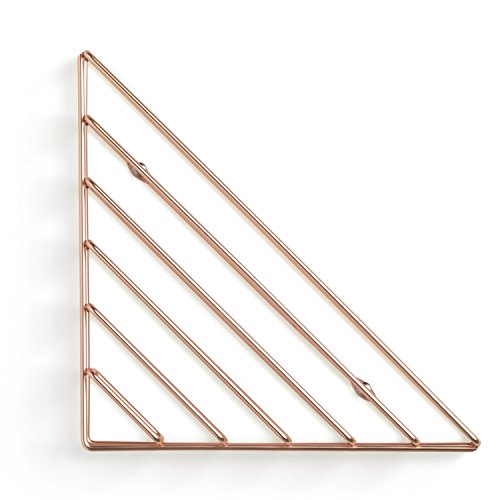 Review Umbra Strum Wall Shelf, Copper By Umbra by Umbra