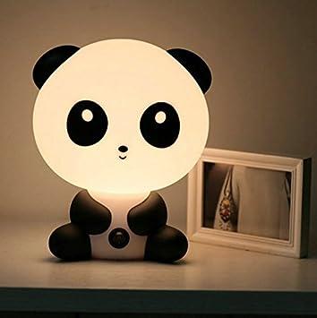 Amazon.com: Bebé Panda Lámpara De Noche Luz dibujos animados ...