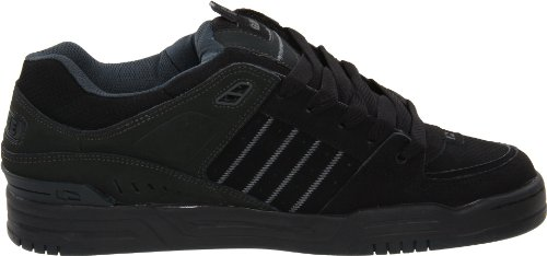 Globe Fusion - Zapatillas de skateboarding para hombre negro negro 12 M US Men Black-Night