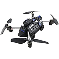 RC Quadcopter And Car,JJRC H40WH 2.4G 4CH 6 Axis Wifi Hover RC Quadcopter Drone Tank w/ 720P Camera By Dacawin (Black)