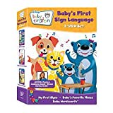 Baby Einstein: Baby's First Sign Language DVD Set (My First Signs / Baby's Favorite Places / Baby Wordsworth) Image