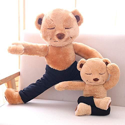 Wahpy Creativo Encantador Yoga Oso Muñeca Felpa Juguete ...