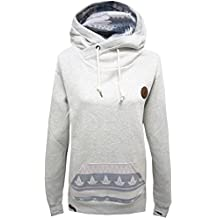 Shisha Buex Hoodie Beige Ash Hoody Hooded Sweater Damen Women S M L XL