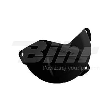 POLISPORT - Protector tapa de embrague Yamaha negro 8454900001: Amazon.es: Coche y moto