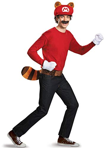 Super Mario Brothers Mario Raccoon Adult